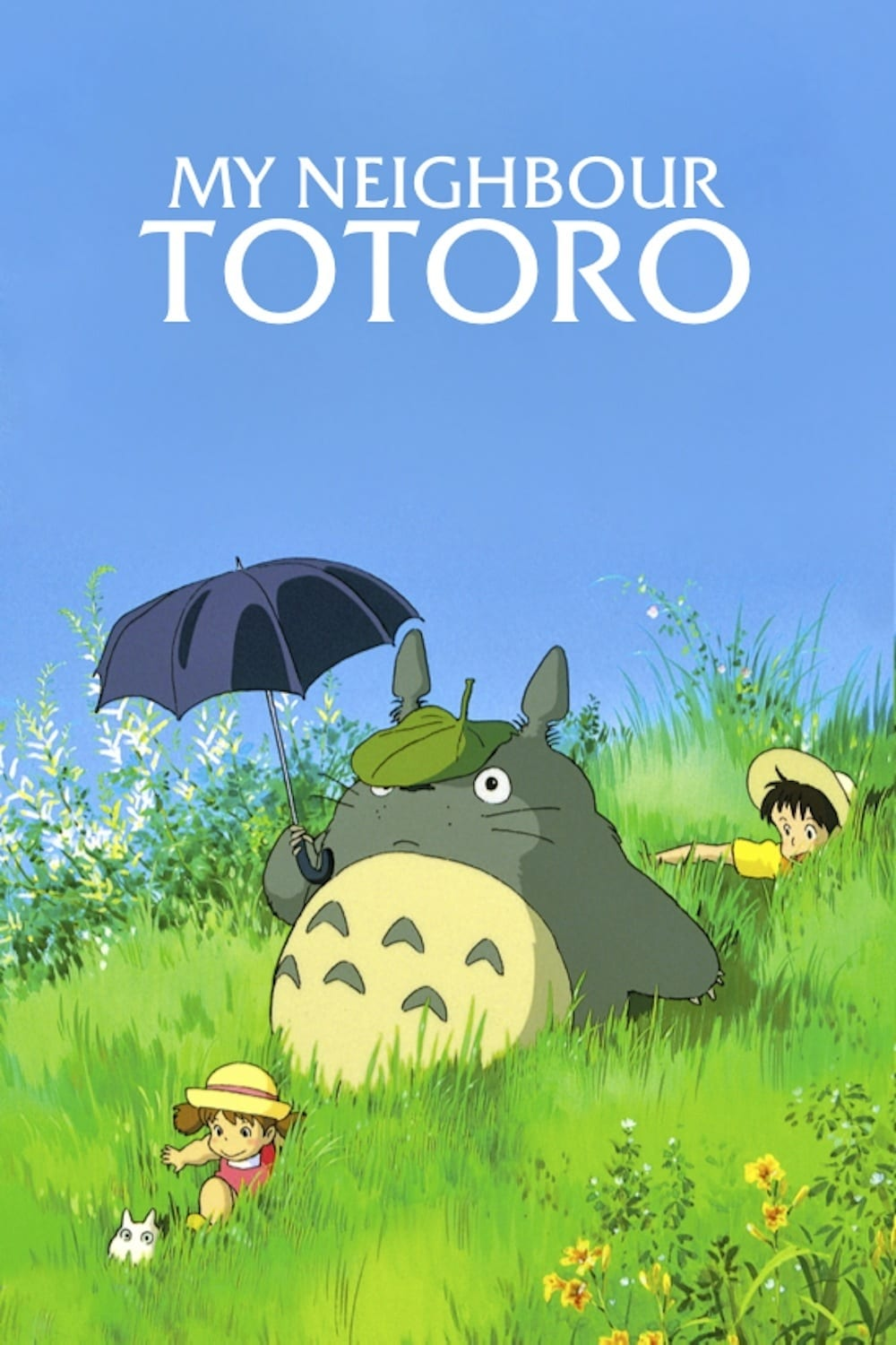 Poster and image movie Film Vecinul meu Totoro - となりのトトロ - My Neighbor Totoro - My Neighbor Totoro -  1988