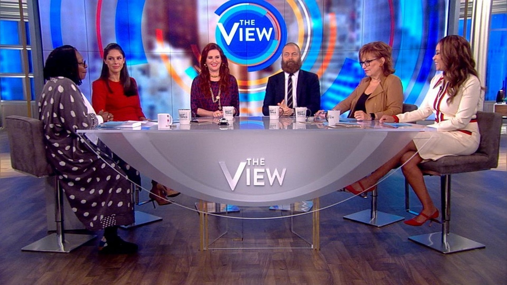 The View Season 22 :Episode 19  Megan Mullally and Nick Offerman