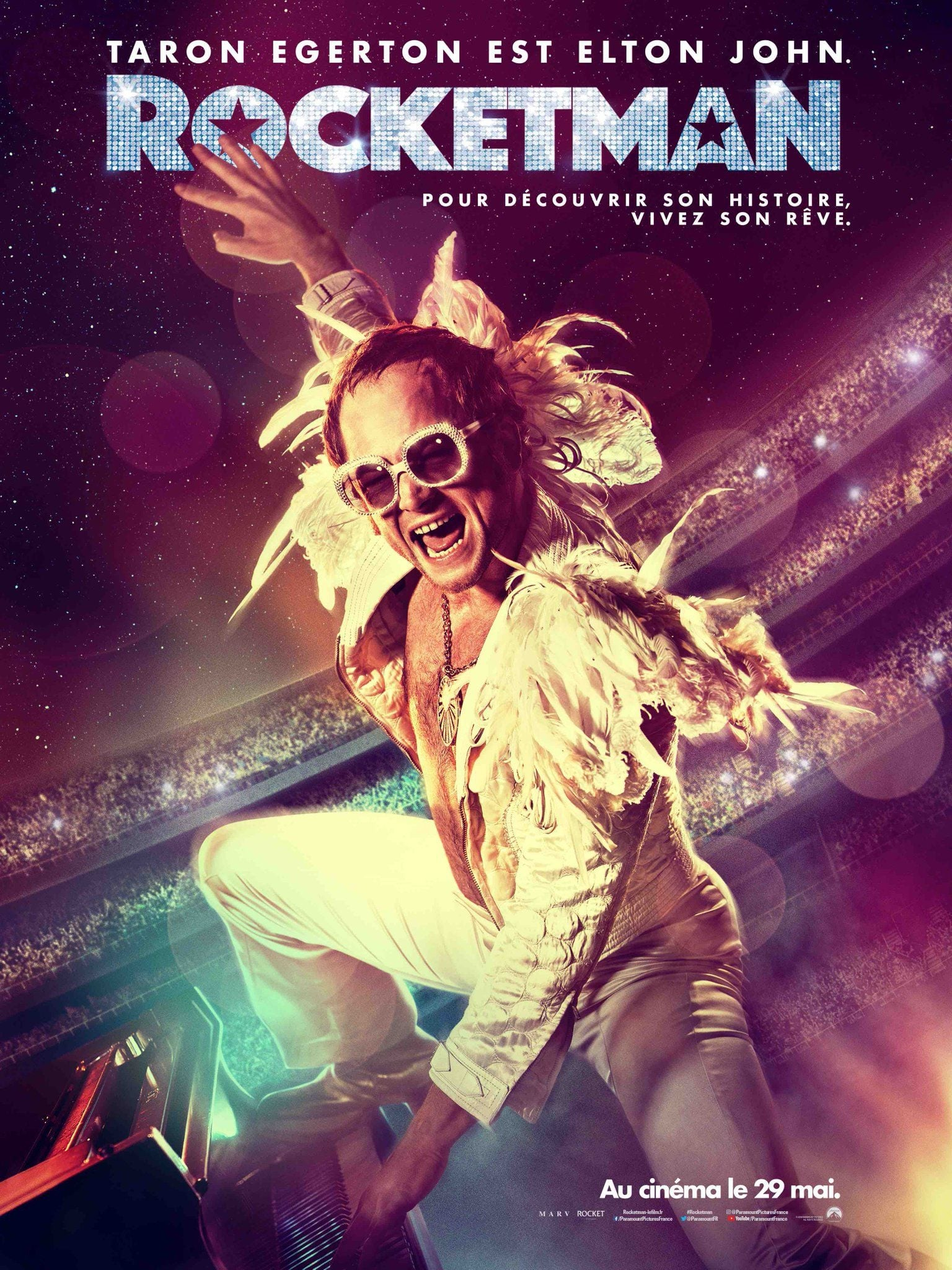 Rocketman streaming sur zone telechargement