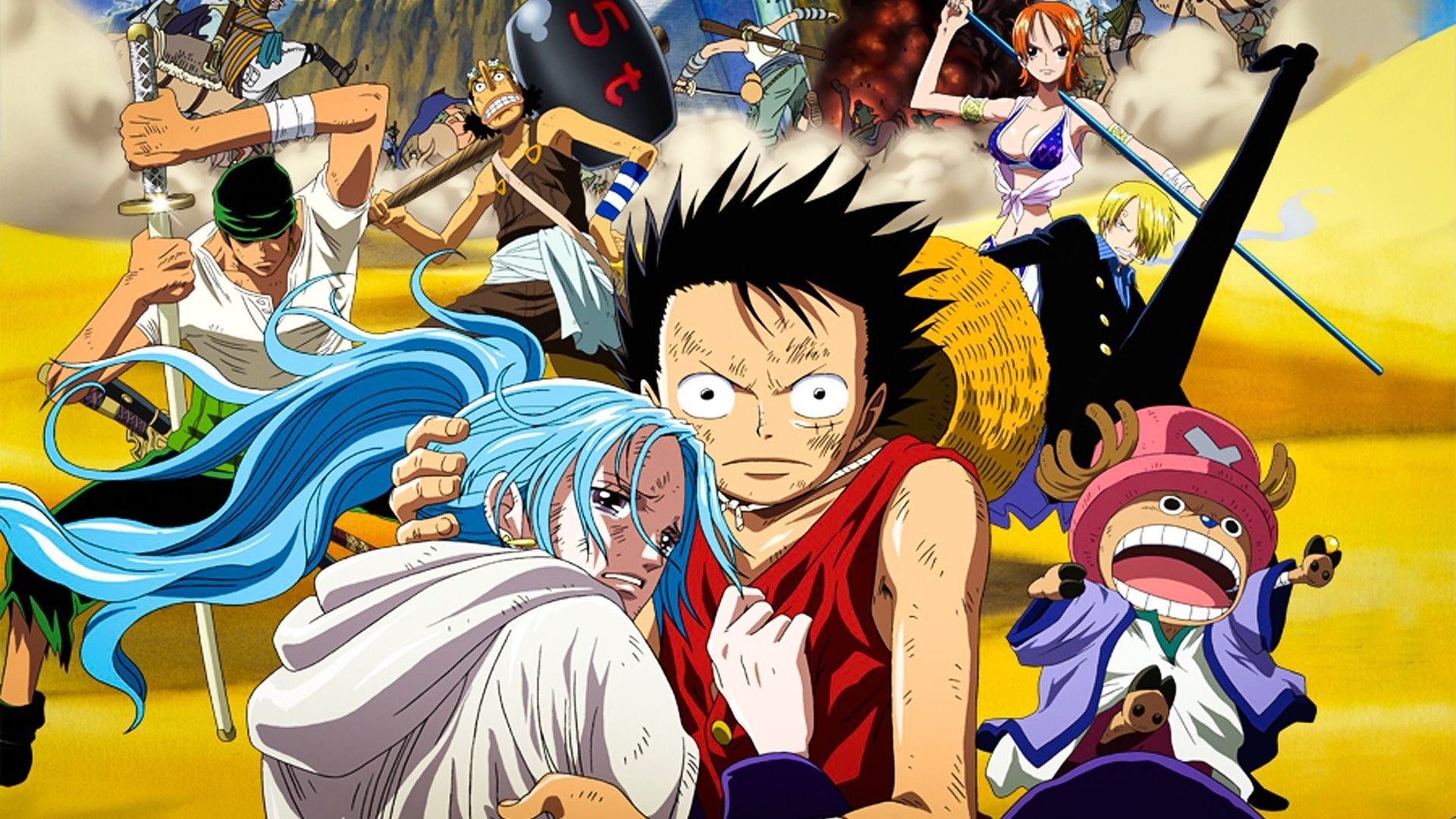 One Piece: The Desert Princess and the Pirates: Adventure in Alabasta Movie