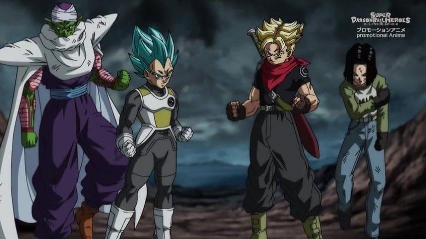 Super Dragon Ball Heroes Season 2 :Episode 8  The Menacing Universe Seed! Kamioren's Rampage!!