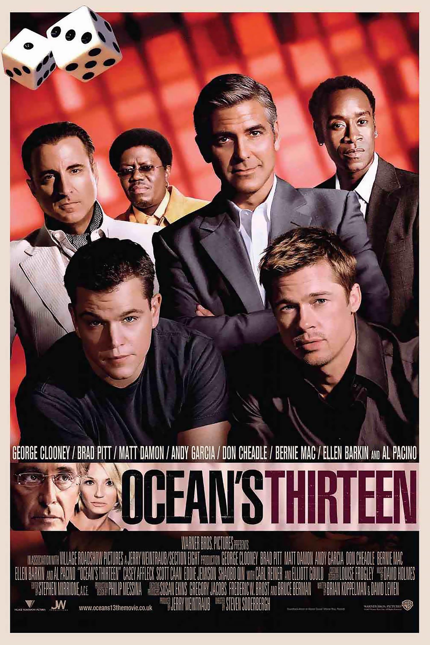 Ocean S Thirteen 2007 Posters The Movie Database Tmdb