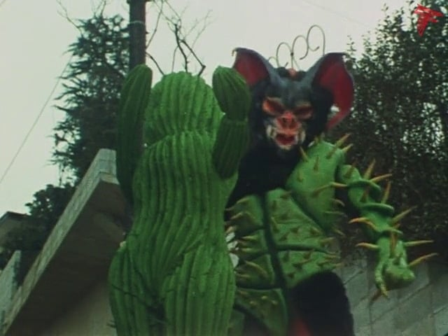 Kamen Rider Season 1 :Episode 96  Takeshi Hongo, Cactus Monster Exposed!?