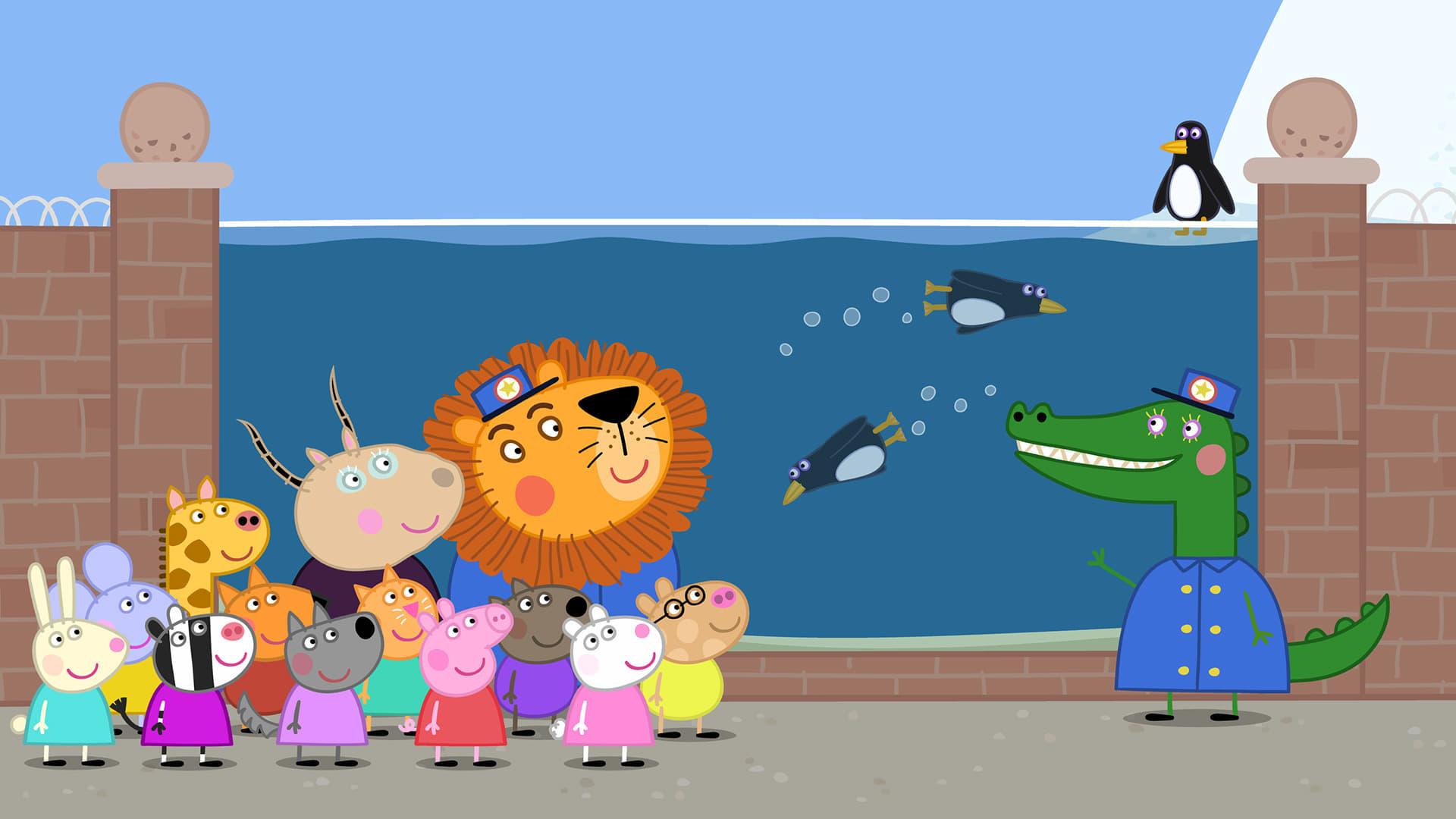 Peppa Pig Season 5 :Episode 17  The Zoo