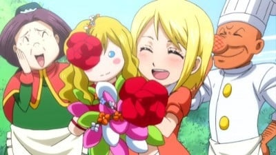 Fairy Tail Season 3 :Episode 54  Lucy and Michelle