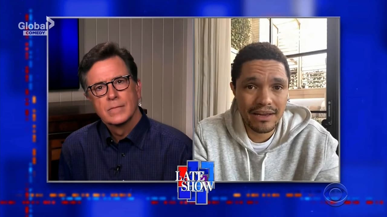 The Late Show with Stephen Colbert Season 5 :Episode 117  Trevor Noah / José Andrés /  Willie, Lukas and Micah Nelson