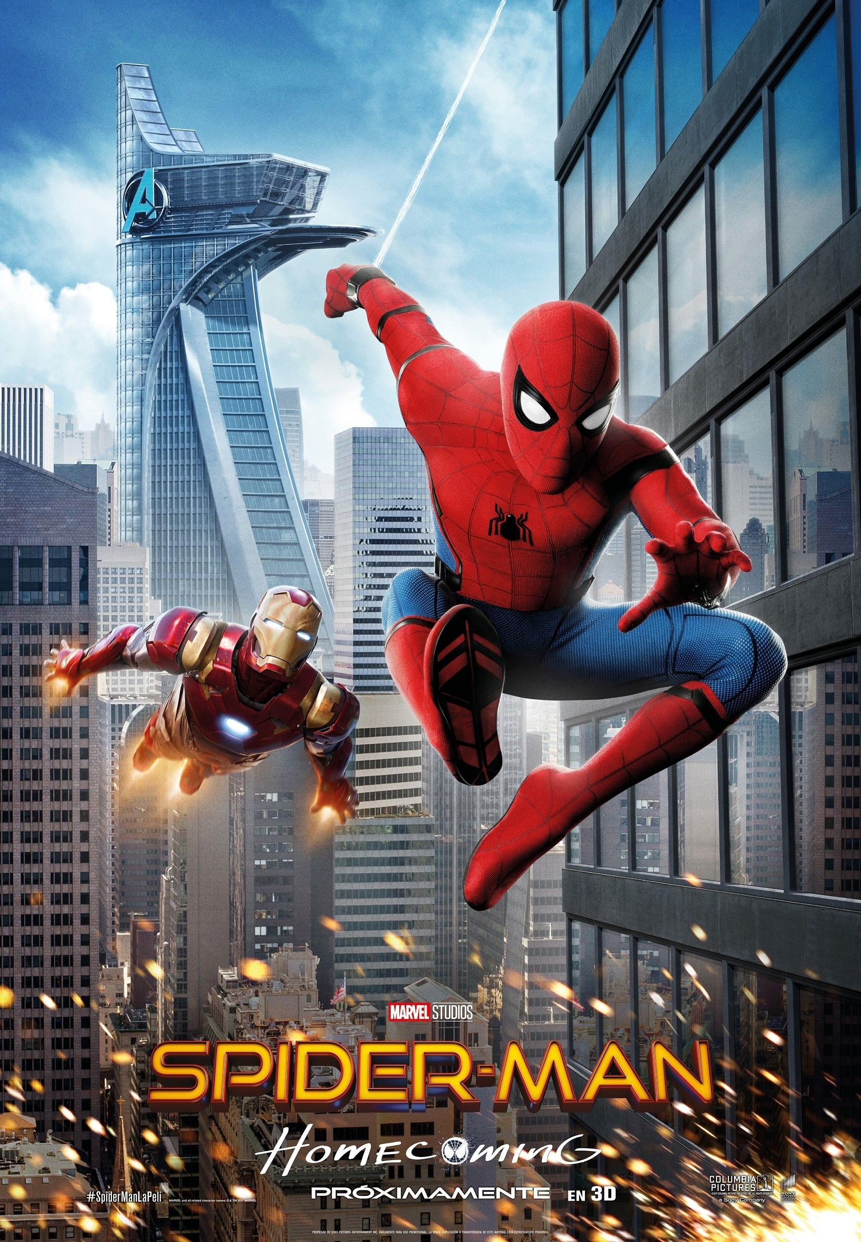 Póster Spider-Man: Homecoming