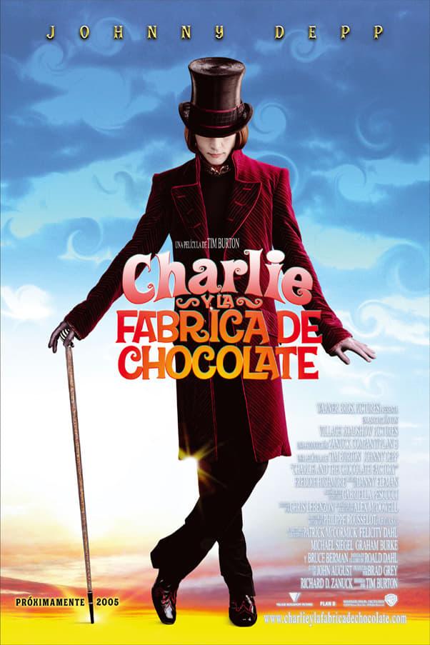 Póster Charlie y la f�brica de chocolate