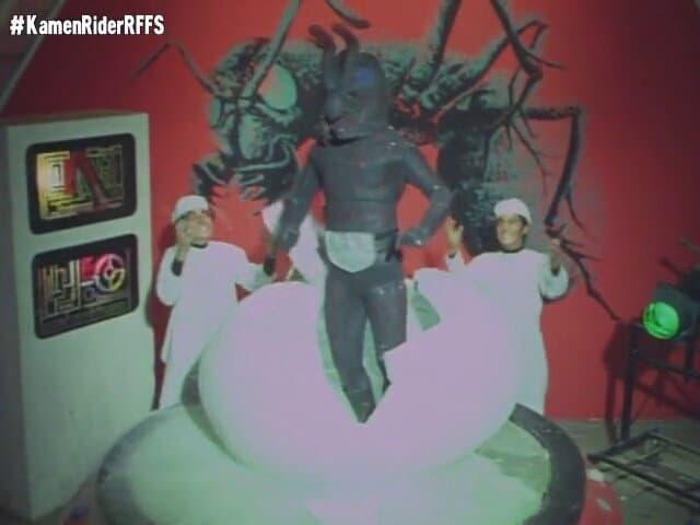 Kamen Rider Season 1 :Episode 35  Murderous Ant Queen, Archimedes