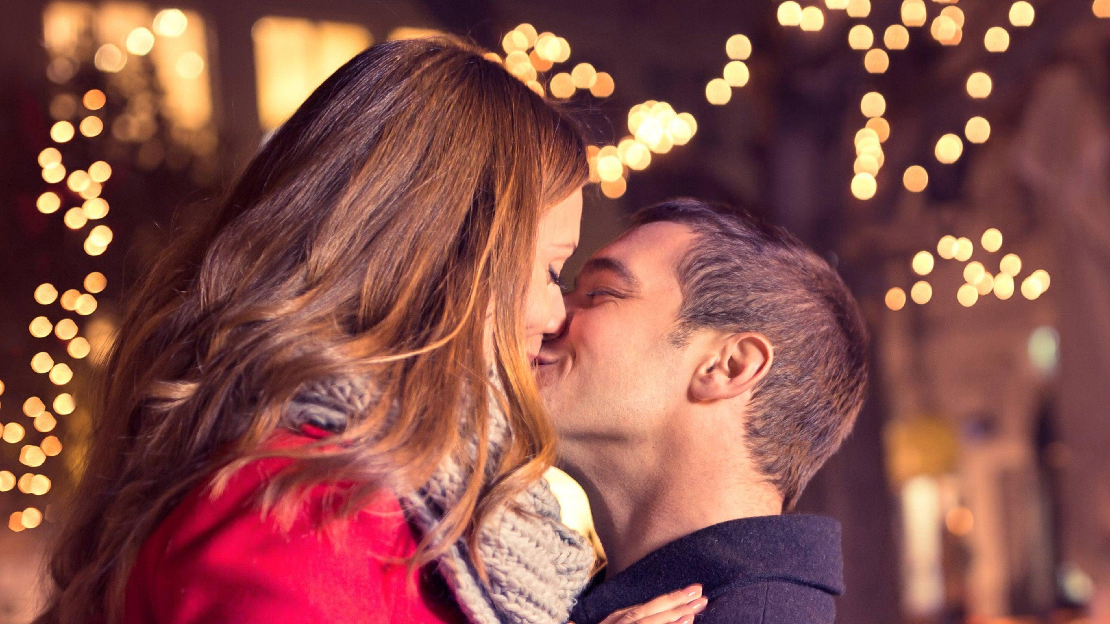Beso de año nuevo