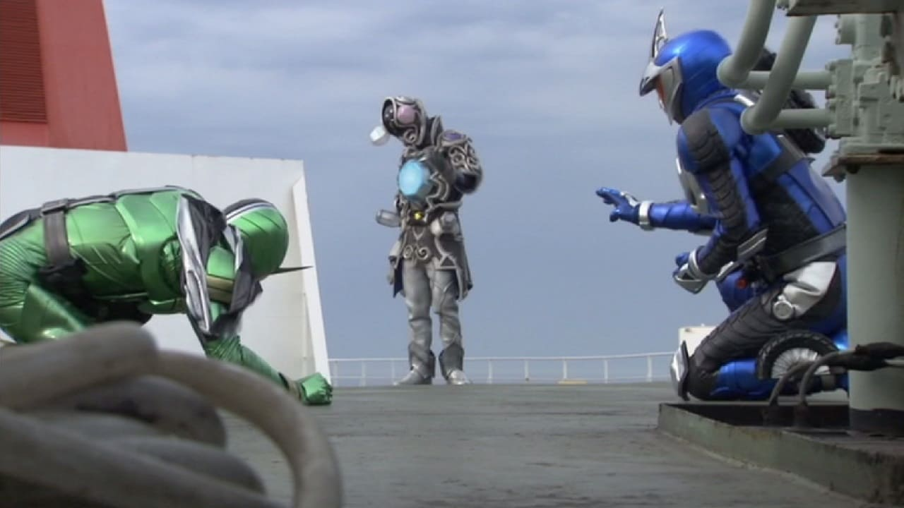 Kamen Rider Season 20 :Episode 42  J's Labyrinth/A Damaged Diamond