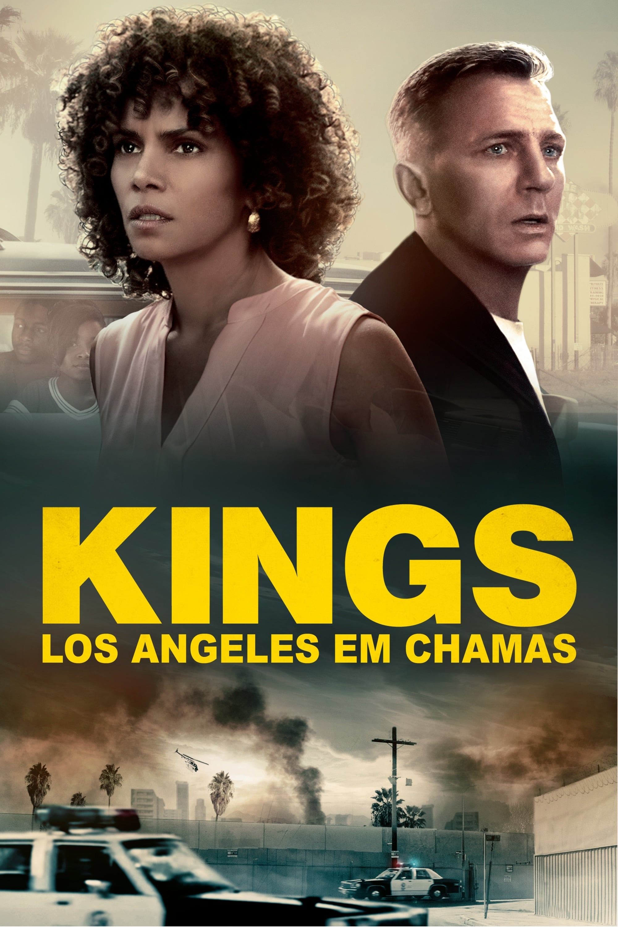 capa Kings: Los Angeles em Chamas