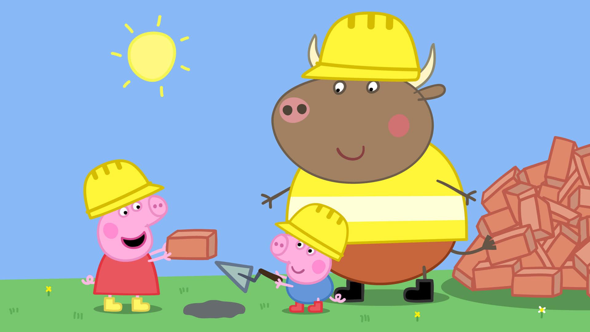 Peppa Pig Season 4 :Episode 2  The New House