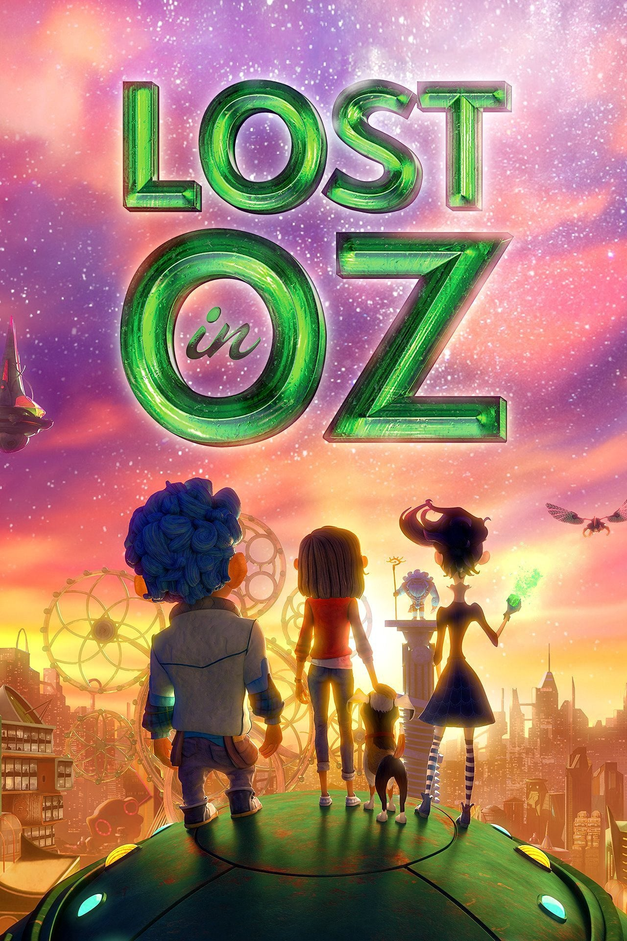 Lost in Oz Poster