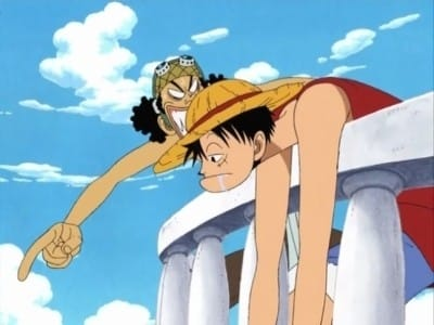 One Piece Season 0 :Episode 3  Open Upon the Great Sea! A Father's Huge, HUGE Dream!