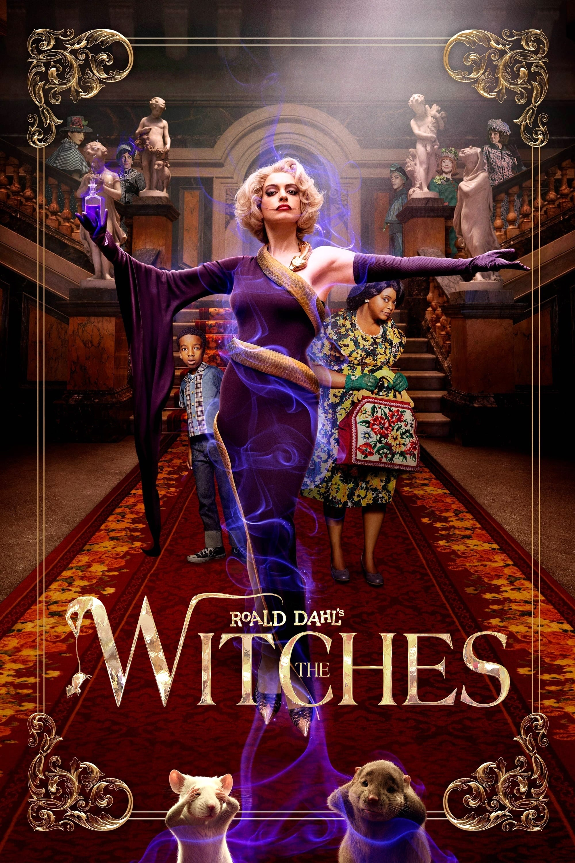 Roald Dahl's The Witches (2020) - Posters — The Movie Database (TMDb)