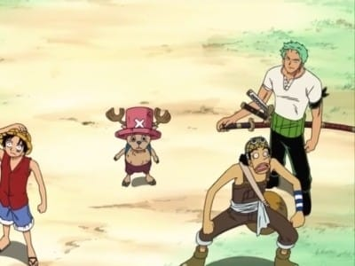 One Piece Season 0 :Episode 4  Protect! The Last Great Performance