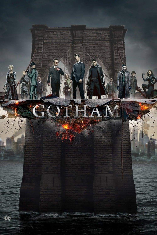 Gotham 5ª Temporada poster, capa, cartaz