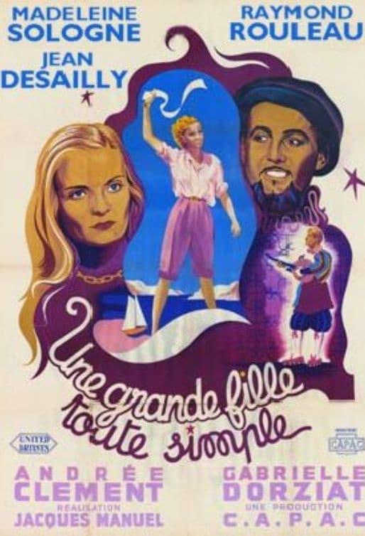 Ver Une grande fille toute simple Online HD Español (1949)