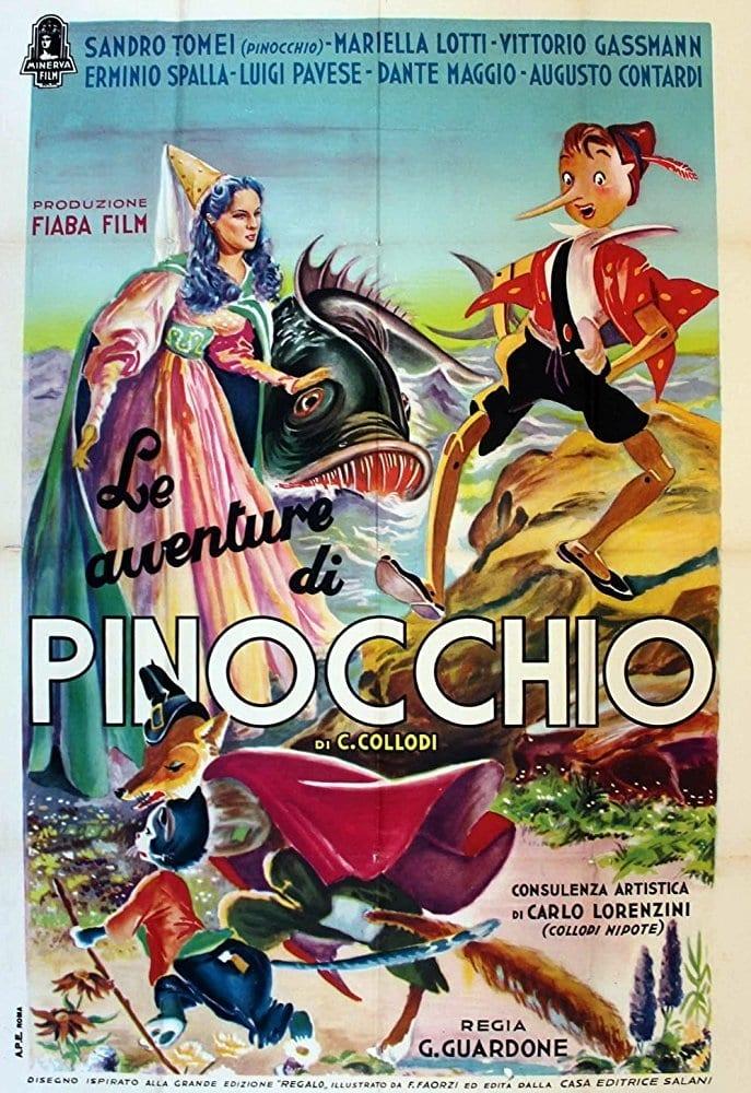 Ver Le avventure di Pinocchio Online HD Español (1970)