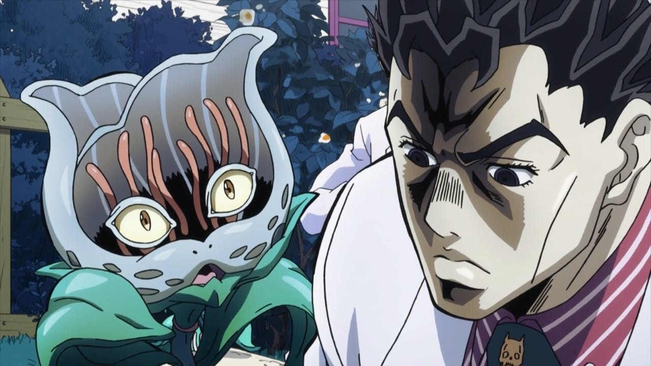 JoJo's Bizarre Adventure Season 3 :Episode 30  Cats Love Yoshikage Kira