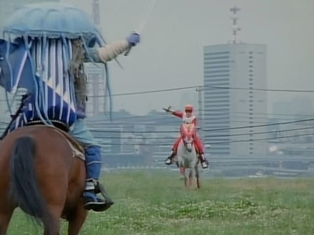 Super Sentai Season 22 :Episode 20  One Man's Battle