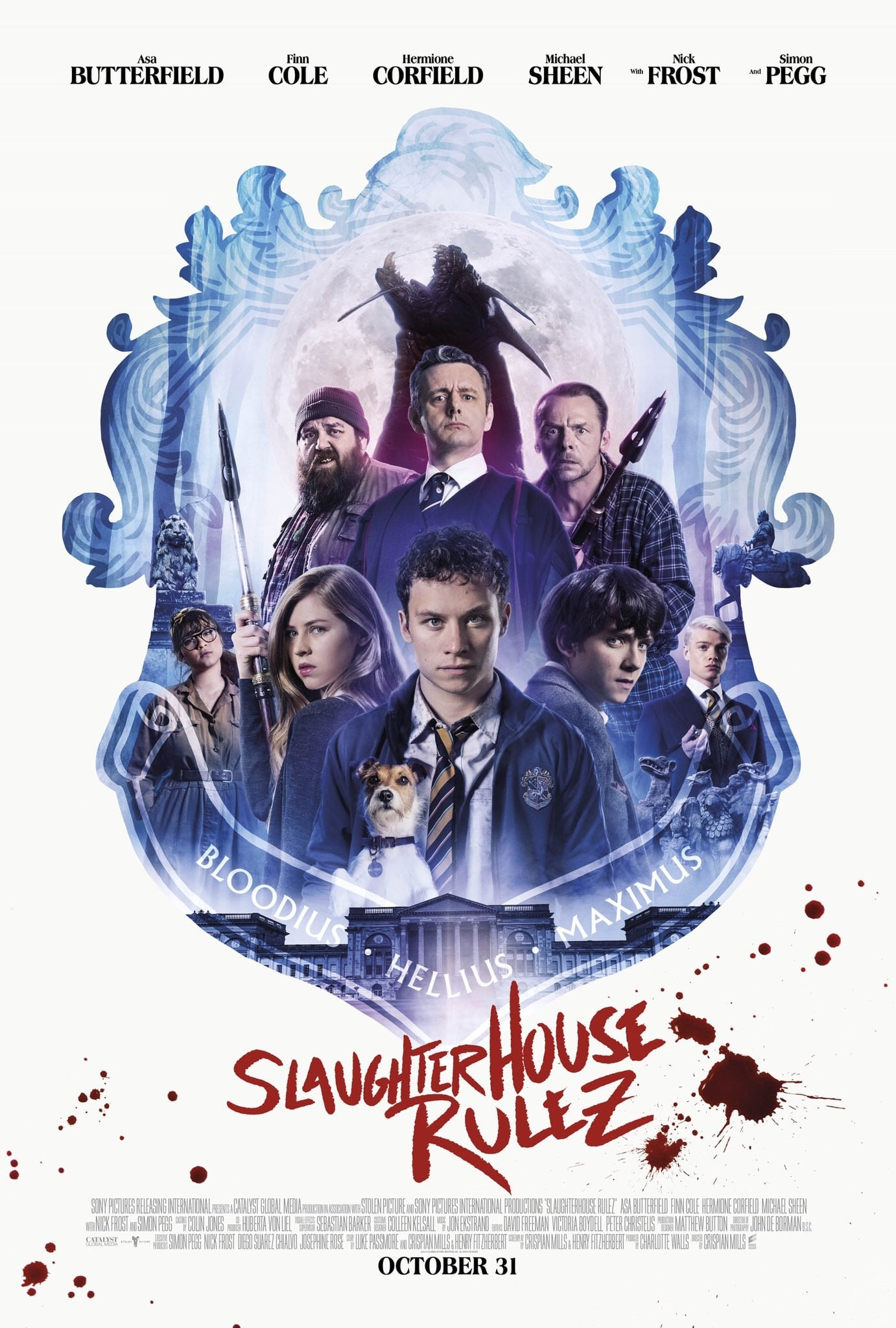 Poster and image movie Film Slaughterhouse Rulez - Slaughterhouse Rulez 2018