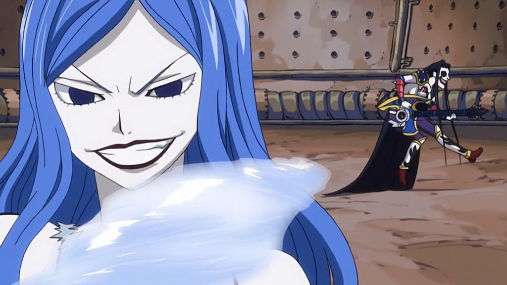 Fairy Tail Season 1 :Episode 37  Armor of the Heart
