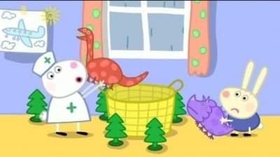 Peppa Pig Season 3 :Episode 8  Richard Rabbit Comes to Play