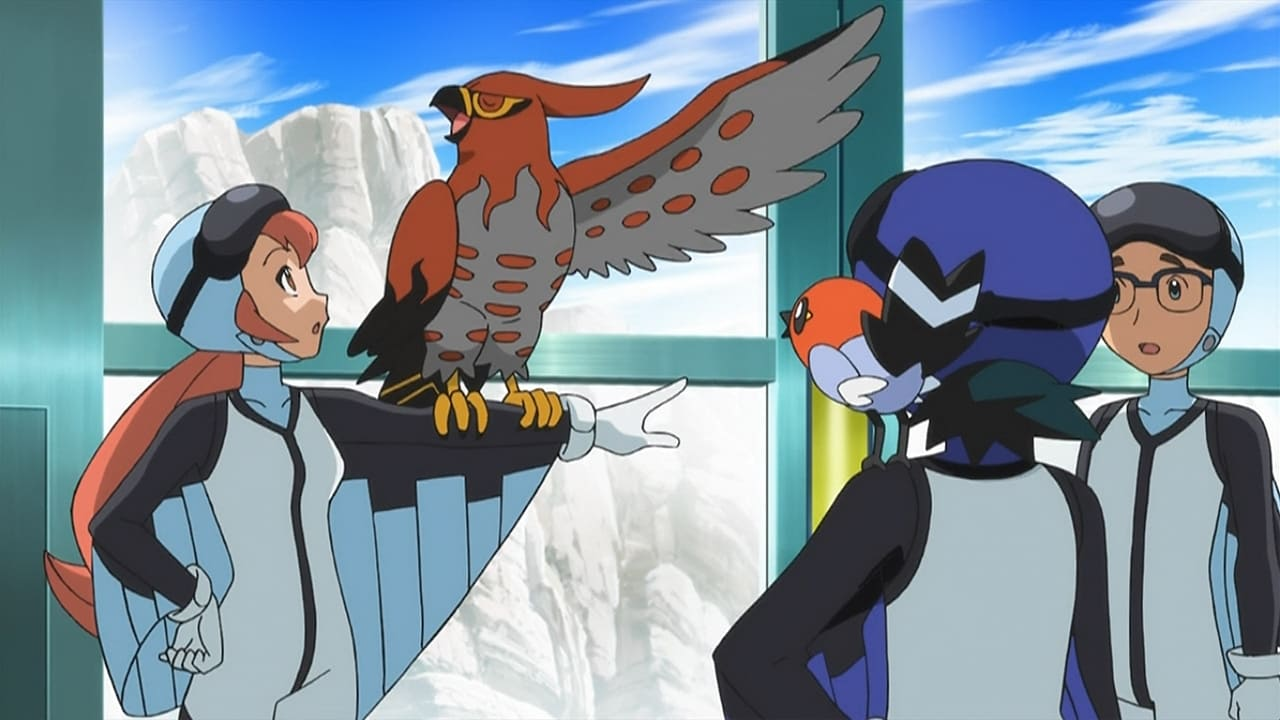 Pokémon Season 17 :Episode 35  Battles in the Sky!