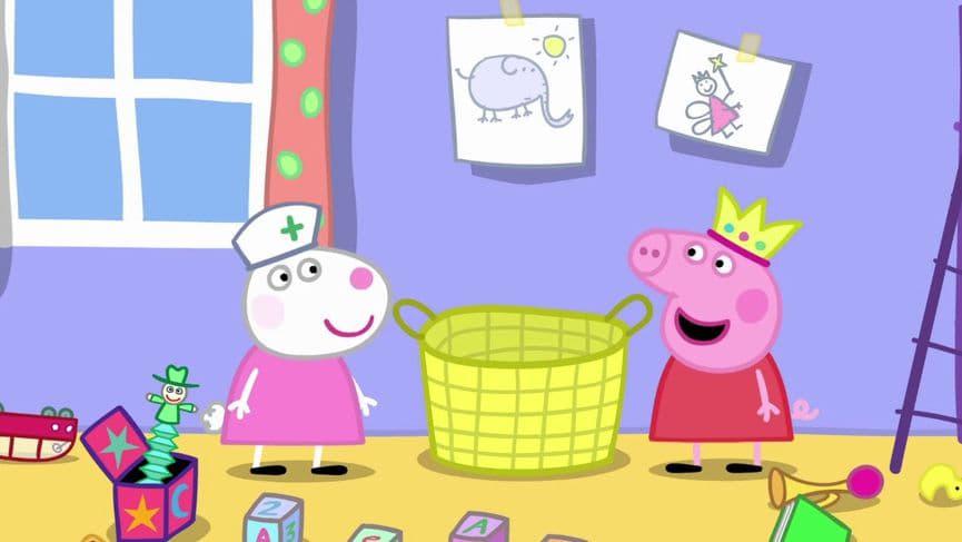 Peppa Pig Season 5 :Episode 50  Suzy Goes Away