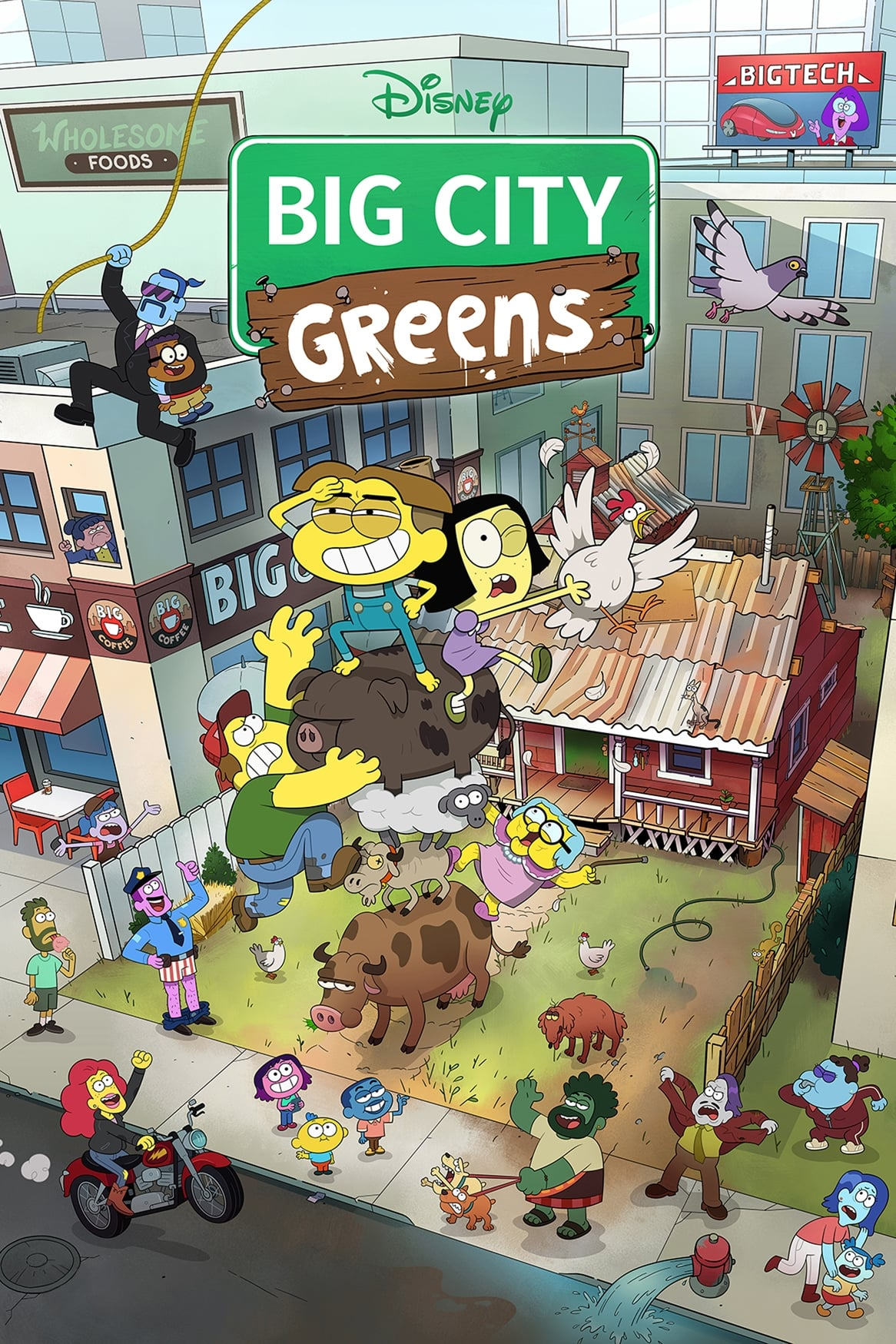 Big City Greens TV Shows About Fish
