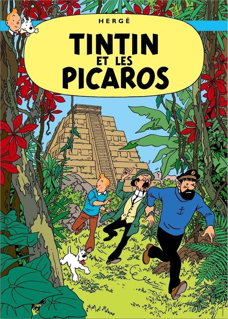 Les-Aventures-De-Tintin-21-Tintin-Et-Les-Picaros-Tintin-And-