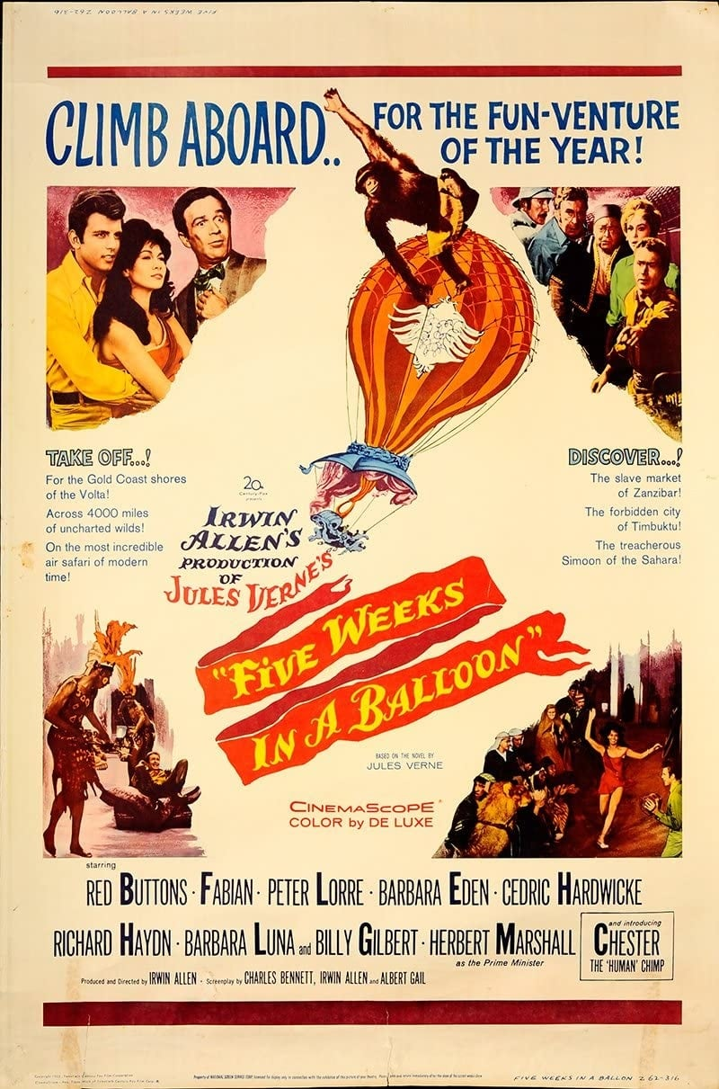 Five Weeks in a Balloon (1962)