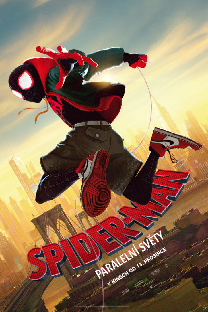 Spiderman A New Universe Stream Kinox
