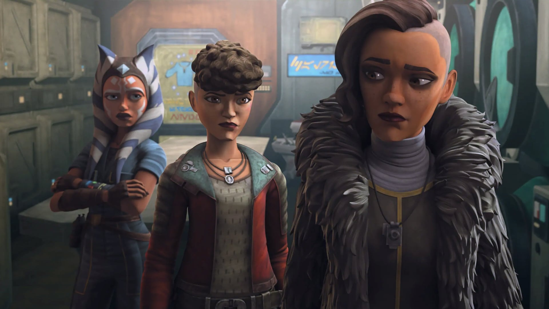 Star Wars: The Clone Wars Season 7 :Episode 5  Gone With a Trace