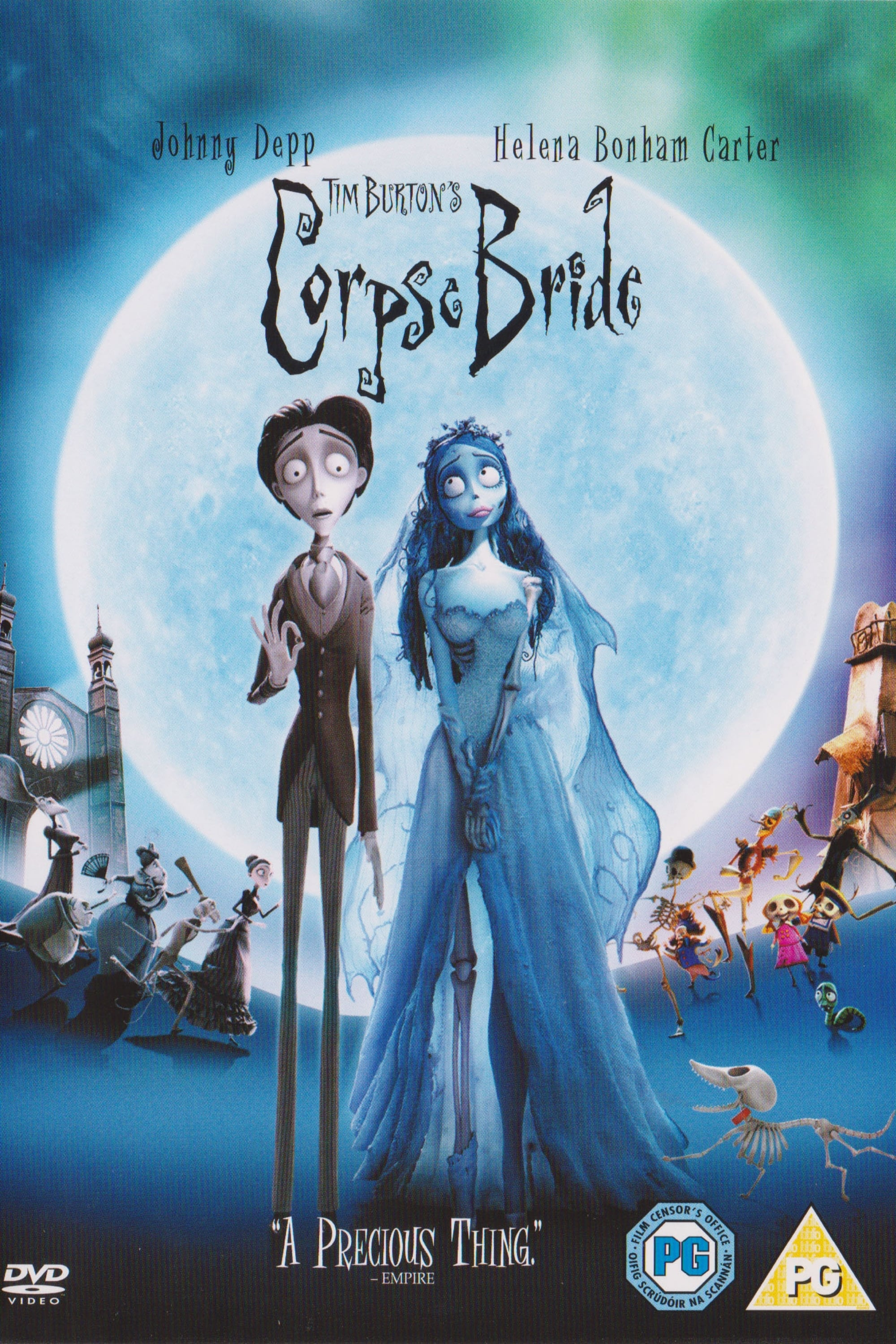 Inside the Two Worlds of 'The Corpse Bride' (2006)