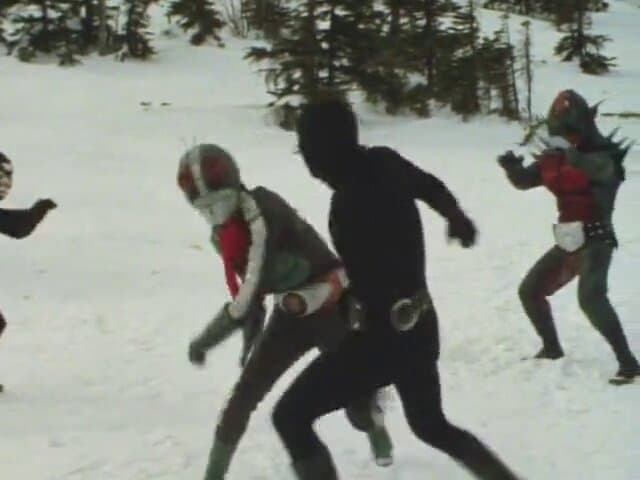 Kamen Rider Season 1 :Episode 46  Showdown!! Snow Mountain Monster Bearconger