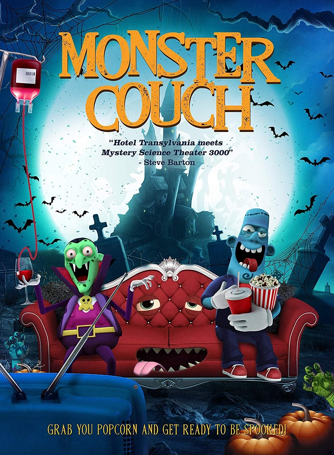 Monster Couch on FREECABLE TV