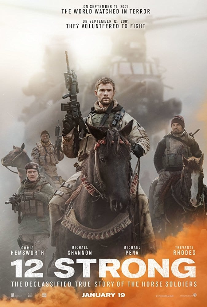 Poster and image movie Film 12 Strong - 12 Strong - 12 Strong -  2018