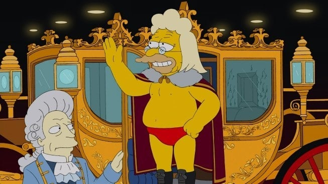 The Simpsons Season 24 :Episode 14  Gorgeous Grampa