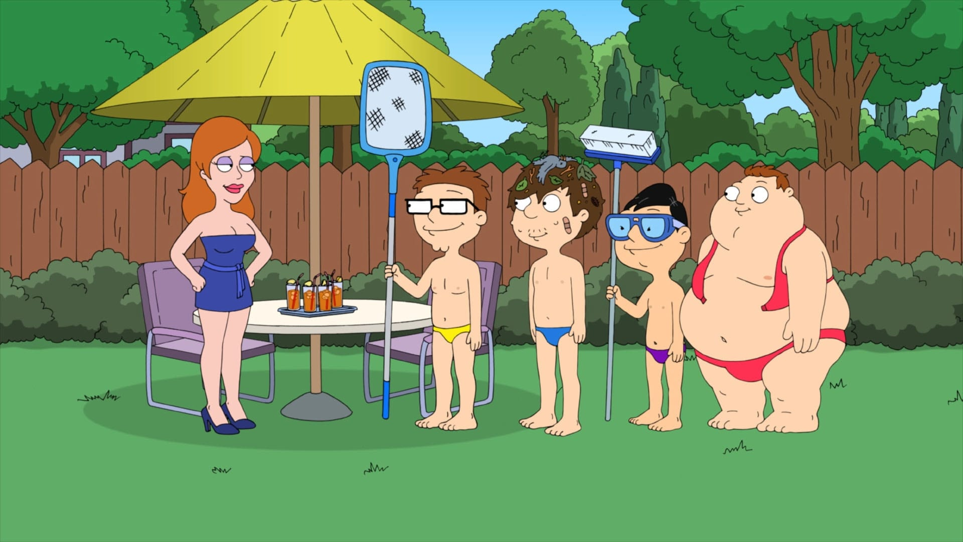 American Dad! Season 11 :Episode 1  Roger Passes the Bar