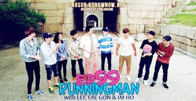 Running Man Season 1 :Episode 99  The Three Kingdoms