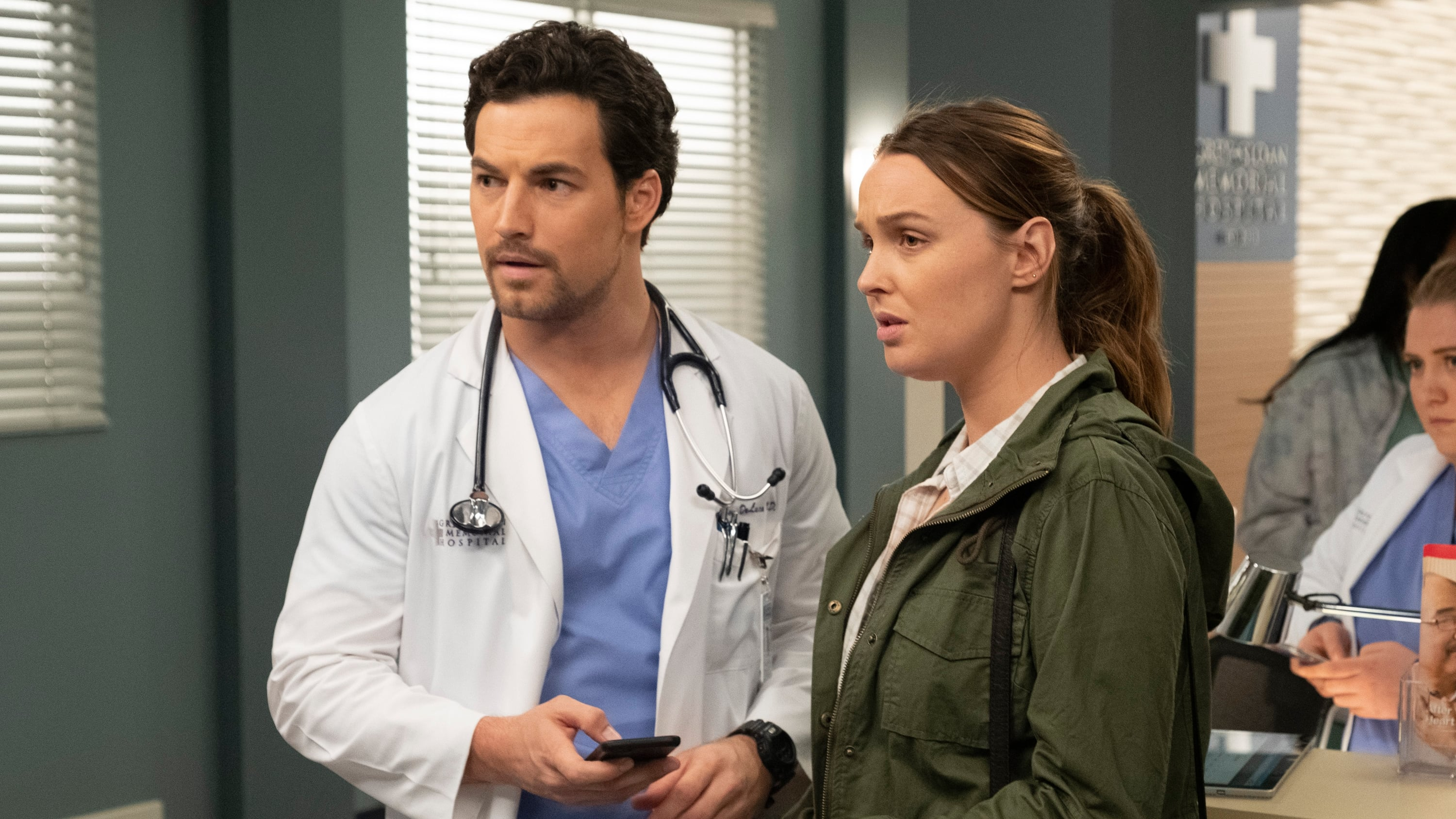 Grey's Anatomy Season 15 :Episode 24  Drawn to the Blood