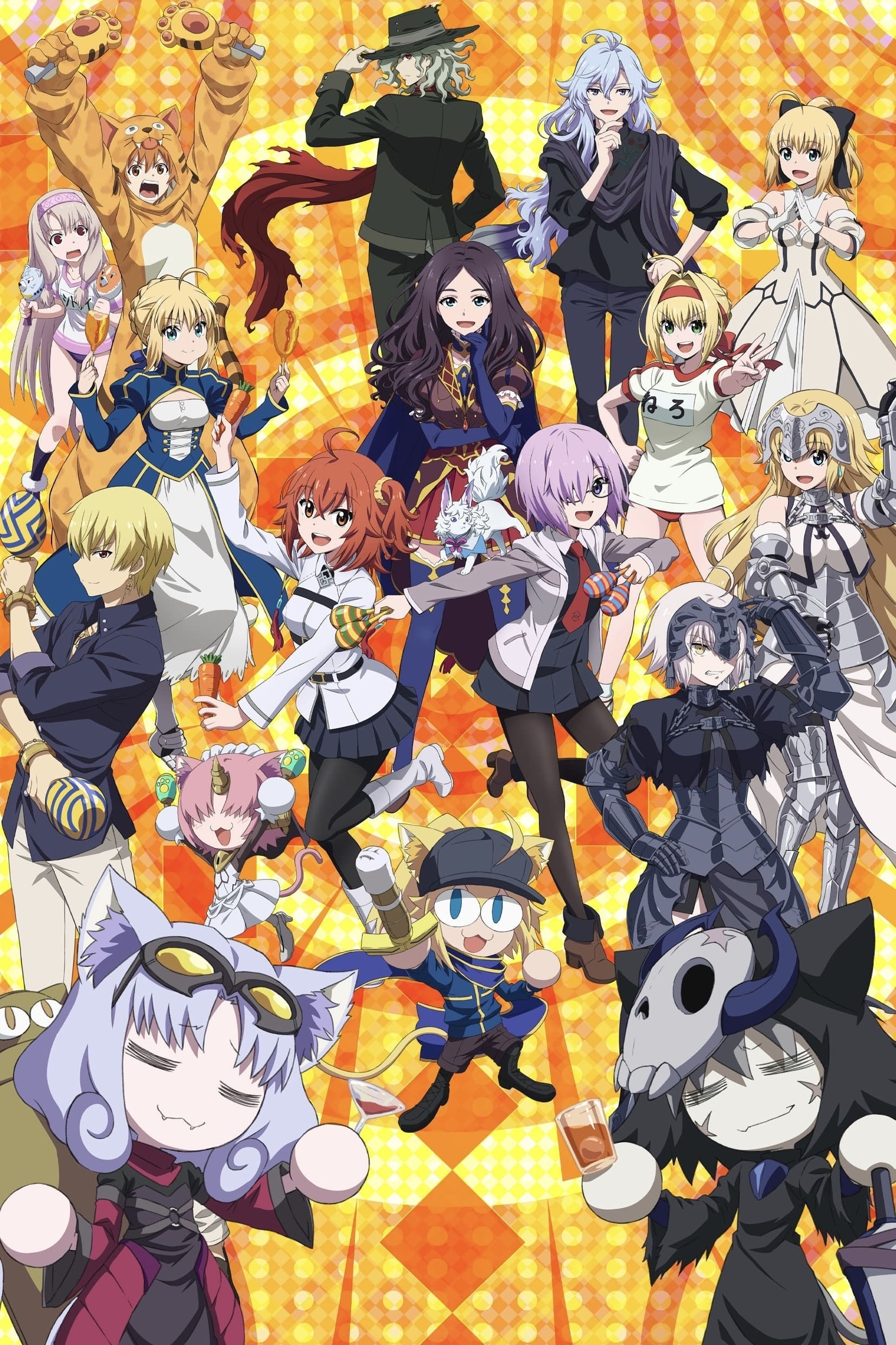 Fate/Grand Carnival TV Shows About And