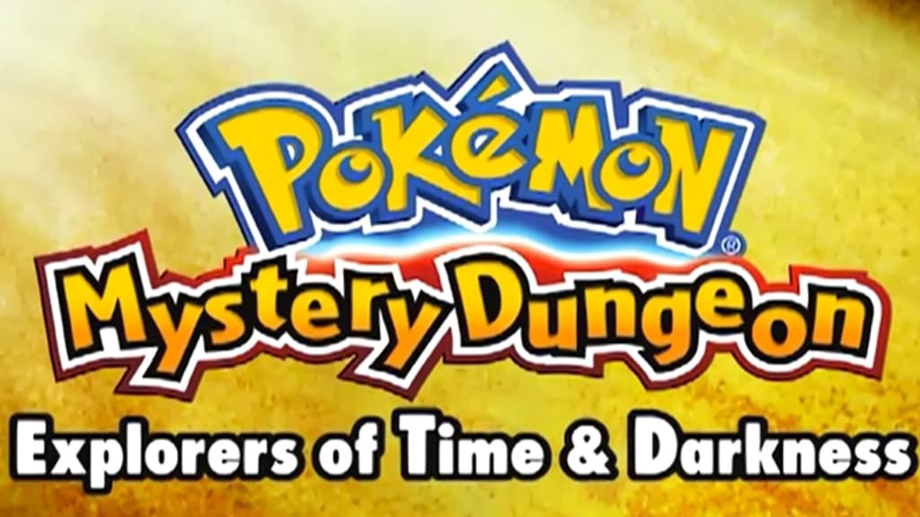 Pokémon Season 0 :Episode 4  Mystery Dungeon: Explorers of Time & Darkness