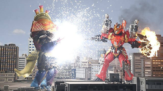Super Sentai Season 43 :Episode 12  A Scorching Illusion