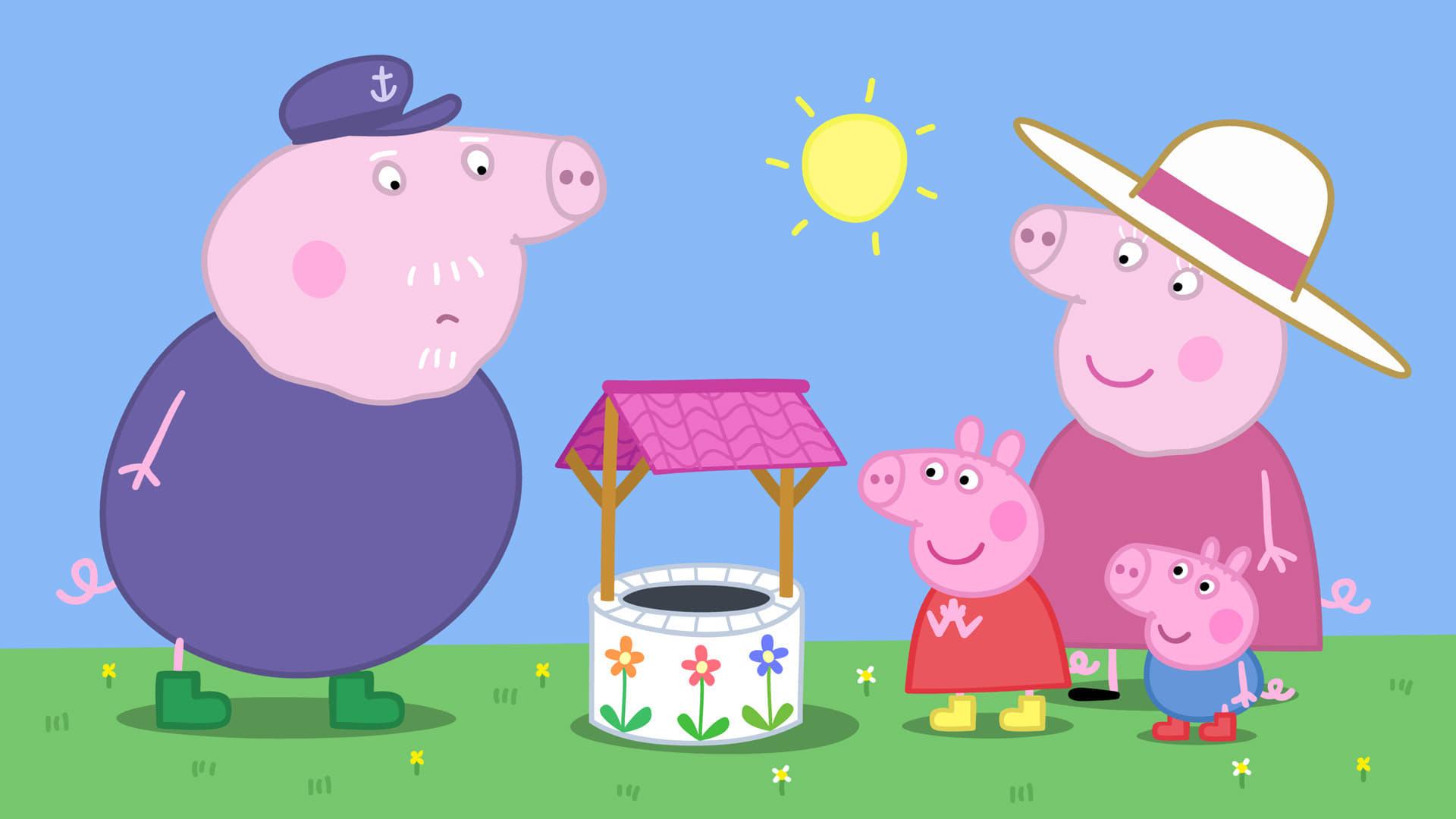 Peppa Pig Season 4 :Episode 24  The Wishing Well