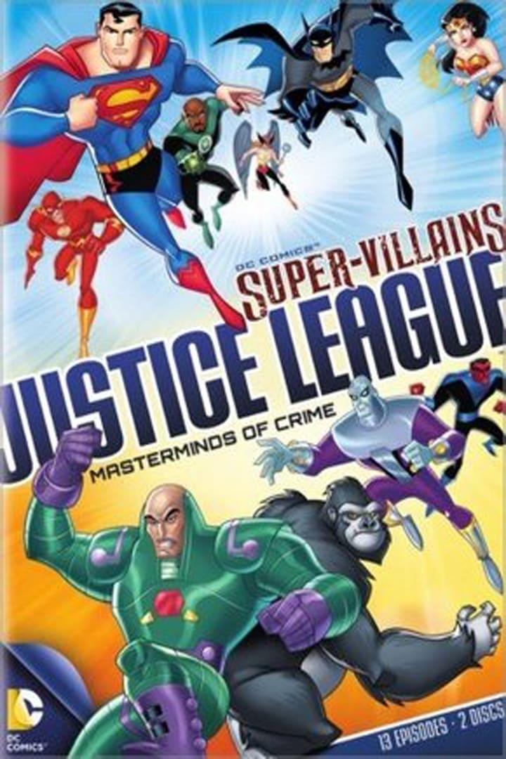 Super Vilões Liga da Justiça Mentores do Crime Disco 1 (1970)