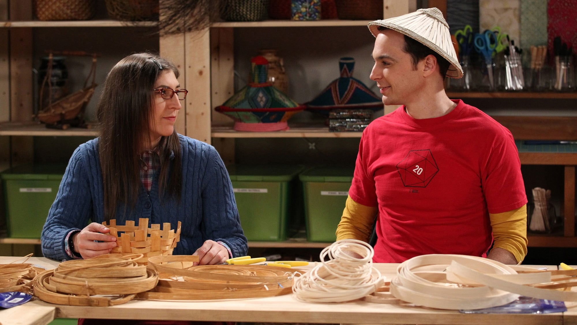 The Big Bang Theory Season 8 :Episode 12  The Space Probe Disintegration